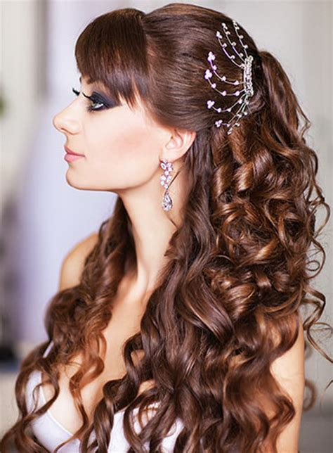 glamorous hairstyles images beautiful bridal hairstyle
