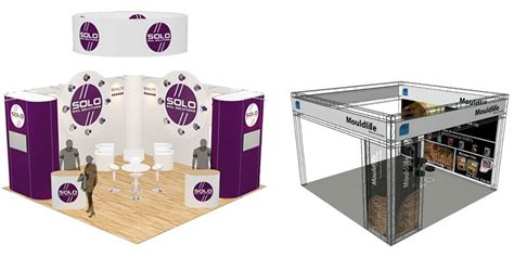 Exhibition Display Stand Pop Up Portable Table Counter Kiosk Trade Show Exhibition Display » Home Design 2017