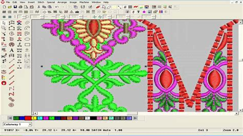 embroidery design management software embroidery designing tutorial on wilcom software