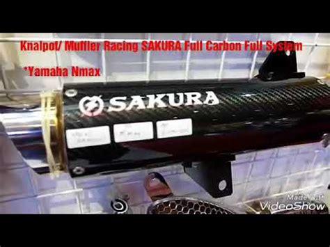 Knalpot Racing Pdk Nmax Fullsystem knalpot exhaust racing carbon system nmax