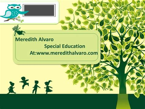 Ppt Meredith Alvaro Special Education Powerpoint Presentation Id 7432273 Special Education Powerpoint Templates
