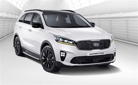 kia soorento 2018 kia sorento revealed updated tech and design
