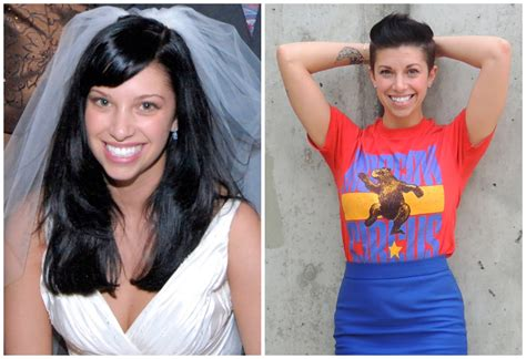before and after long to short hair short hair pixie cut cable car couture
