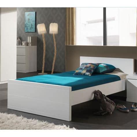 canapé lit 120 cm lara lit enfant 120 x 200 cm blanc achat vente