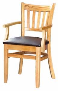 asf 3545 ar vertical slat wood chair with arms