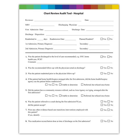tool chart chart audit tool for hospitals atom alliance