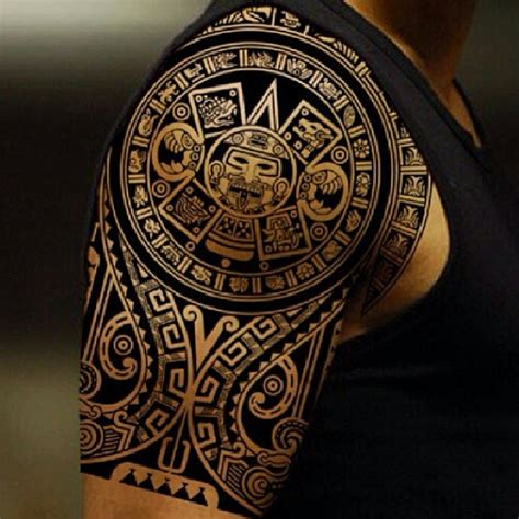 Aztec Tribal Designs For 100 S Of Aztec Tribal Tattoo Design Ideas Pictures Gallery