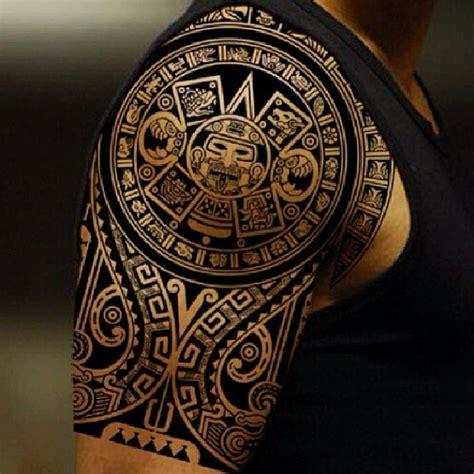 tattoo tribal pinterest aztec tribal shoulder tattoos google search tattoos