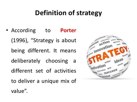 Keystone Strategy Mba Linktedin by Definition Of Strategy Strategic Management Manu