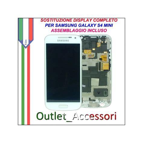 cambiare cornice s4 sostituzione display schermo rotto samsung galaxy s4 mini