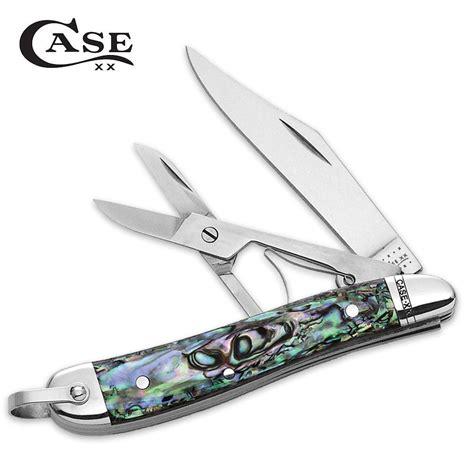 abalone knife abalone peanut folding knife kennesaw cutlery