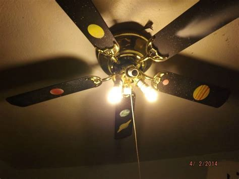 solar system ceiling fan solar system painted ceiling fan step by step photos on