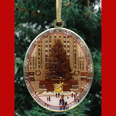 rockefeller center ball christmas ornaments new york trees ornaments gift set ny gifts