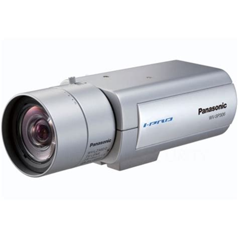 panasonic i pro wv sp306 1.3 megapixel ip cctv camera with