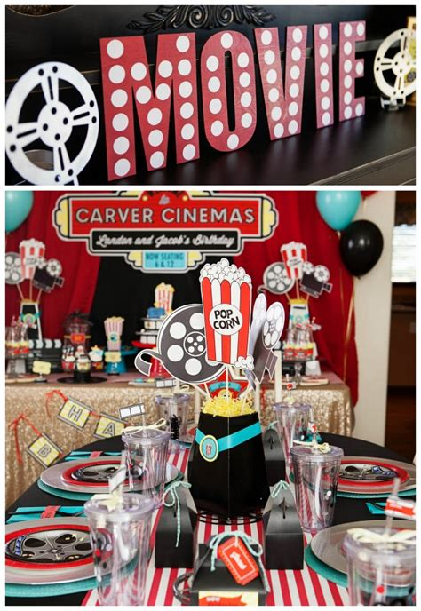 themed party movies a hollywood movie party feature on anders ruff custom designs