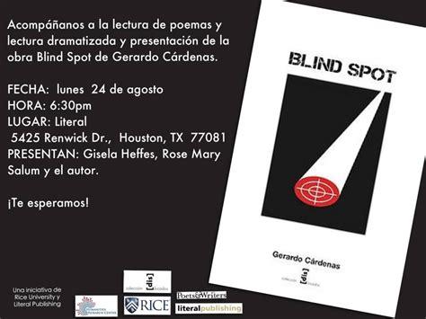 presentaci 243 n del libro blind spot literal magazine