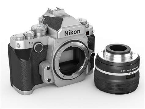 nikon model nikon df digidal 3d model
