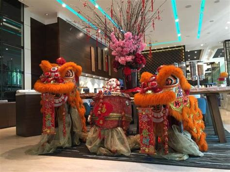 new year decorations wholesale in singapore new year decoration in lobby of park regis
