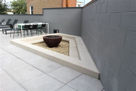 pit seating custom concrete benches fit pit seating concrete bar