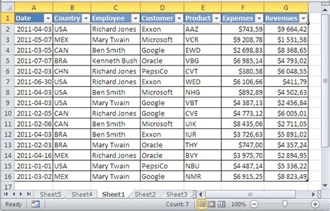 Sle Excel Spreadsheets by 28 Sle Of Excel Spreadsheet With Data Do More With Your