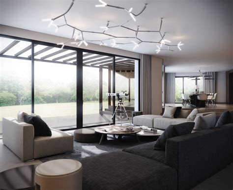 ceiling lights modern living rooms modern ceiling lights illuminating shiny interior