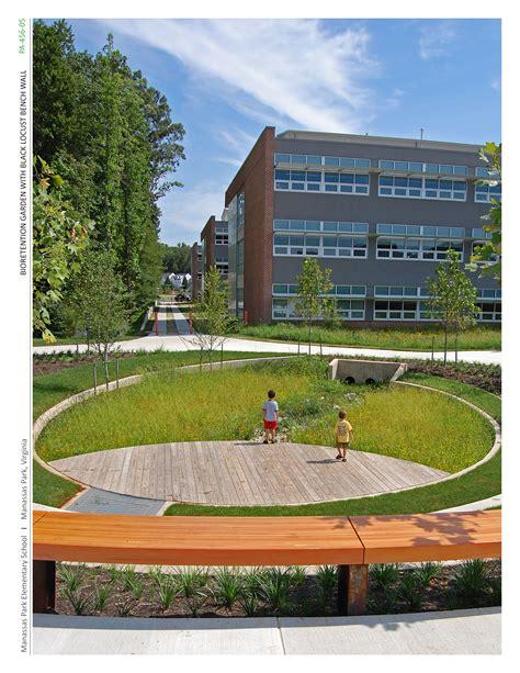 Landscape Architecture High School Courses Asla 2011 Professional Awards Manassas Park Elementary