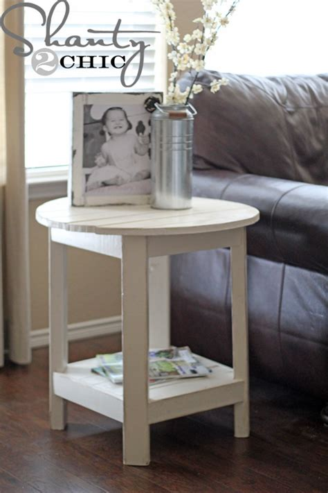 diy end table plans white benchright end tables diy projects