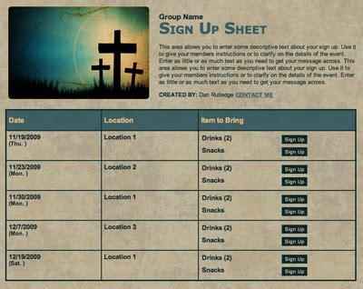 Free Church Nursery Sign In Sheet Template Thenurseries Church Volunteer Schedule Template