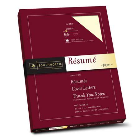 Resume Paper Walmart by Southworth Resume Paper Walmart