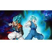 Vegito Gogeta Super Saiyan Blue Dragon Ball Anime 1920x1080