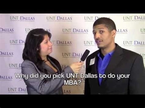 Unt Dallas Mba by Unt Dallas Mba Alumni Reception Interviews