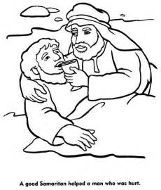 the samaritan coloring page the world s catalog of ideas