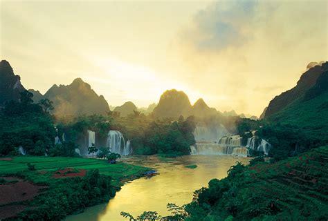 guangxis detian waterfall detian waterfall travel guide