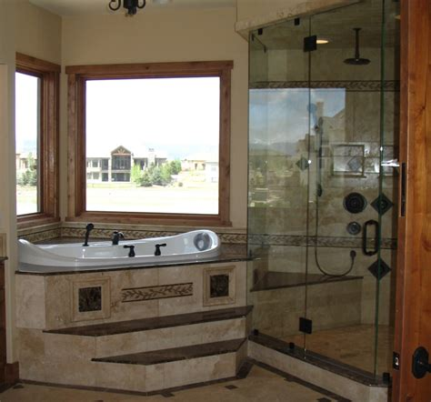 Corner Tub Bathroom Designs | corner bathroom designs interior design ideas