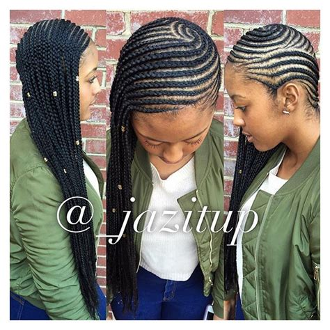 Side Cornrow Hairstyles by 17 Best Ideas About Side Cornrows On Side