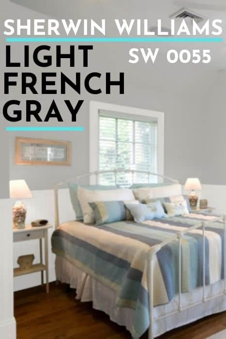 sherwin williams light french gray sw   perfect
