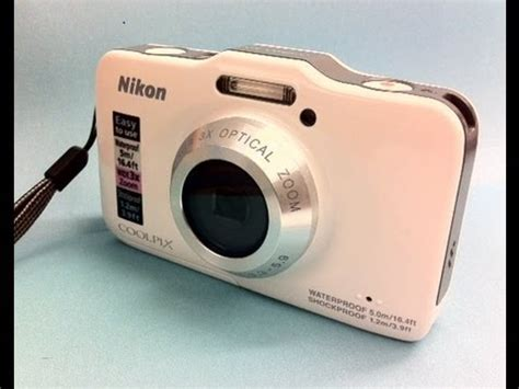 nikon coolpix s31 review and underwater camera test youtube
