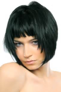 choppy bob haircut with fringe short bob with uneven choppy bangs