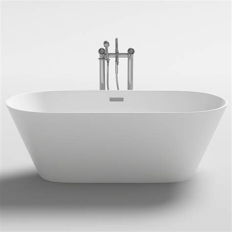 best acrylic bathtubs new lugano acrylic bathtub 1500mm ovale free standing top buy