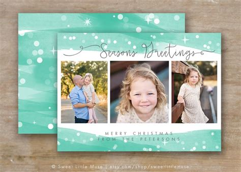 30 Holiday Card Templates For Photographers To Use This Year Infoparrot Card Templates Photoshop
