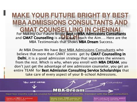 Best Mba Admissions Consultants by Best Mba Admission Consultants For Top B School With Gmat