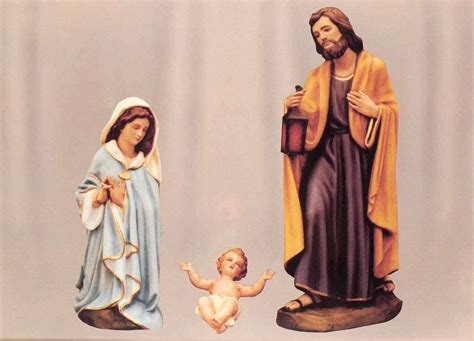 nativity statues fiberglass nativity