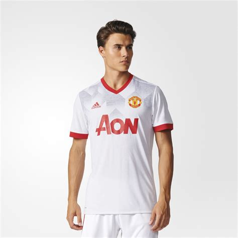 Jersey Manchester United Prematch 1618 manchester united home pre match jersey