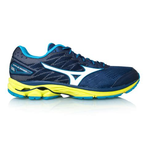 mizuno wave rider mens running shoes mizuno wave rider 20 mens running shoes blue depths