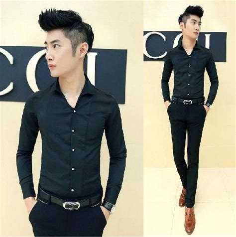 Buy The Entourage Guys Style by Find More Casual Shirts Information About Open Neck Slim