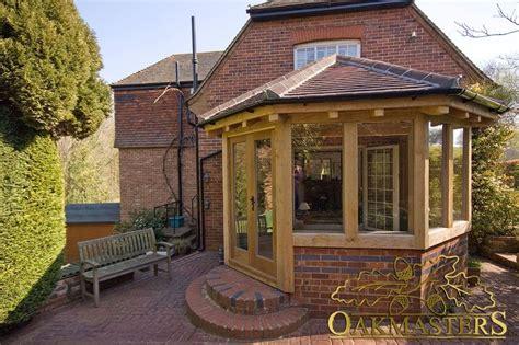 hexagonal garden room  kent oakmasters garden room