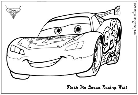 Lightning Mcqueen Color Page free coloring pages of rayo mcqueen