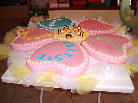 torta a fiore le torte decorate torta battesimo grande fiore