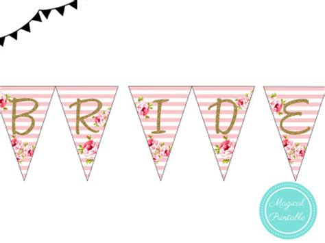 printable instant download banners buntings magical
