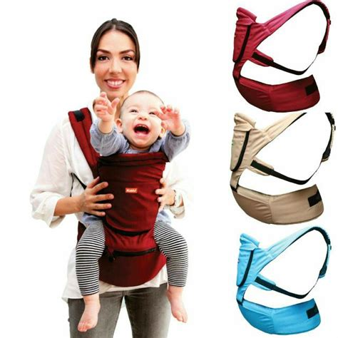 Gendongan Bayi Anti Pegal kiddy hiprest baby carrier 2in1 gendongan anak anti